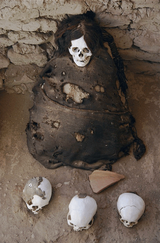 Paracas-mummy
